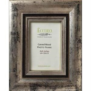 "Fashion Wood Frame Collection Elegance - Wood Frame, 3"" X 3"""