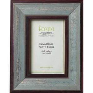 "Fashion Wood Frame Collection Vecchio - Wood Frame, 5"" X 7"""