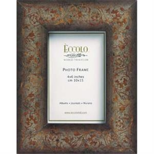 "Fashion Wood Frame Collection Florentine - Wood Frame, 3"" X 3&quo"