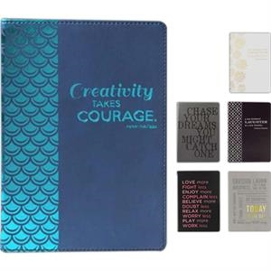 "Creativity Takes Courage - Flexible Cover Journal, 6"" X 8"""