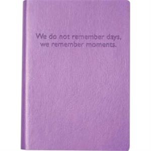 "The Essential Collection Remember Days - Flexible Cover Journal With Lined Pages, 5"" X 7"""