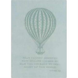 "The Essential Collection Hot Air Balloon - Flexible Cover Journal With Lined Pages, 5"" X 7"""