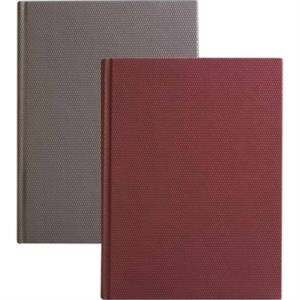 "Griff - Gray Embossed Diamond Pattern Journal, 8"" X 10"""