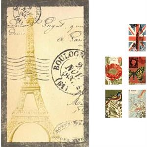 "The World's Fair Collection Butterflies - Covered Memo Pad With Perforated Lined Pages, 3"" X 5"""