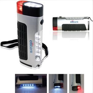 Features An Area Light With 5 Led's, A 2 Led Flashlight, And An Emergency Blinker