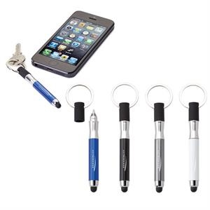 Rosanno - Aluminum Stylus/pen With Chrome Split Key Ring