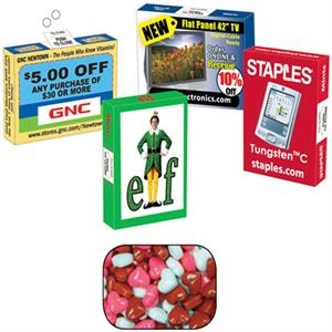 Mint Man - Advertising Mint/candy/gum Box With Candy Heart. Eco Friendly Mint And Candy Box
