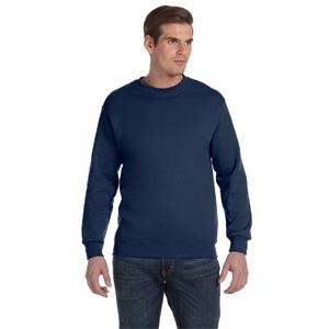 Fruit Of The Loom (r) - Colors 3 X L - Crew Neck Sweat Shirt With Ribbed Cuffs And Waistband