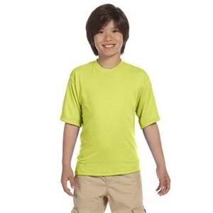 Jerzees (r) - Neutrals - 5.3 Oz. Youth 100% Polyester Crew T-shirt
