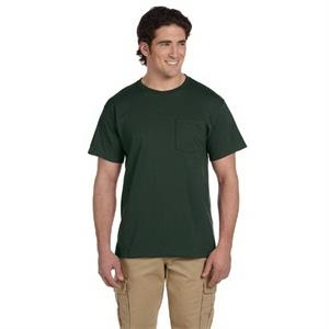Jerzees (r) - Neutrals S- X L - Polyester/cotton T-shirt With Pocket, Color