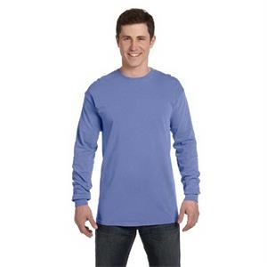 Comfort Colors - 2 X L - Ringspun Garment Dyed Long Sleeve T-shirt, Ribbed Collar And Cuffs