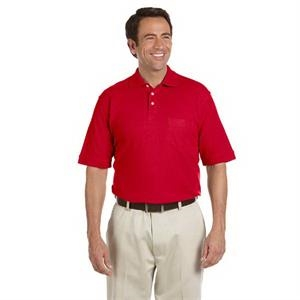 Chestnut Hill - 2 X L - Men's Performance Plus Pique Polo Shirt With Pocket