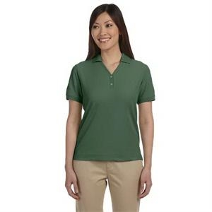 Devon & Jones (r) - 3 X L - Ladies' Pima Pique Short-sleeve Y-collar Polo Shirt