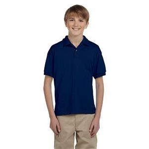 Gildan (r) - Heathers - Youth Jersey Polo Shirt, 5.6 Oz
