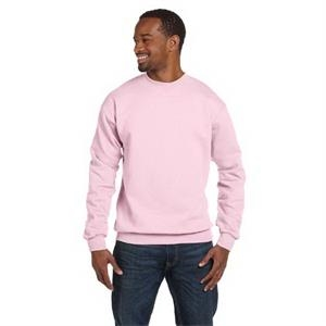 Hanes (r) - Colors S- X L - Polyester/cotton Fleece Crew Sweatshirt With High-stitch Density Fleece