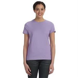 Hanes (r) Nano-t (r) - Heathers S- X L - Ladies' 4.5 Oz., 100% Ringspun Cotton Nano (tm) T-shirt