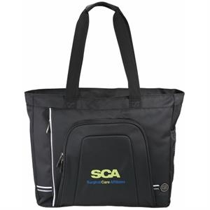 Cutter & Buck (r) Tour - Compu-tote With Zippered Main Compartment And Padded Computer Pocket