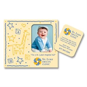 Rectangle Punch Out Picture Frame Magnet