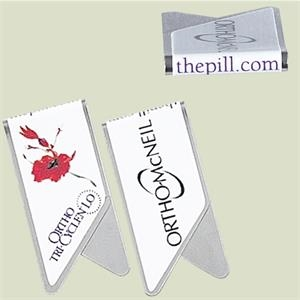 Keepaklip - Eco Friendly Metal Paper Clips With Full Color, Full Wrap Logo