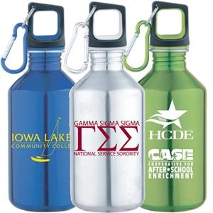 17 Oz Stainless Steel Water Bottle With Screw On Cap