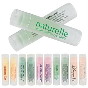 Fruit Flavored Lip Moisturizer In Clear-frosted Tubes