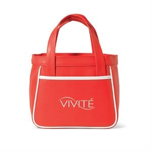 "Santa Fe Red - Mini Fashion Tote Bag With 12.5"" Handles"