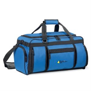 Navigator - Royal - Weekender Bag With 5 Zippered Pockets