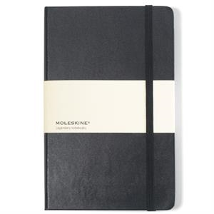 Moleskine (r) - Black - Hard Cover Ruled Large Notebook