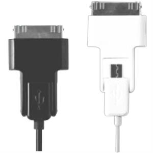 Micro 2-in-1 Usb Charging And Data Sync Cable. 3 Foot Cable