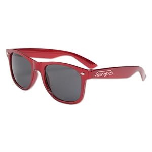 Metallic Red - Metallic Colored Sunglasses