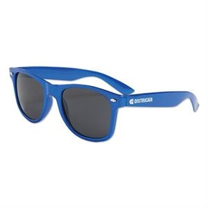 Metallic Blue - Metallic Colored Sunglasses