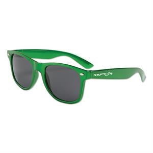 Metallic Green - Metallic Colored Sunglasses