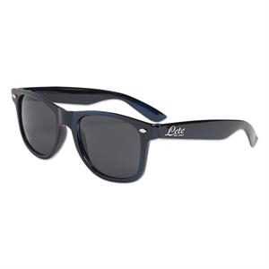Metallic Navy Blue - Metallic Colored Sunglasses
