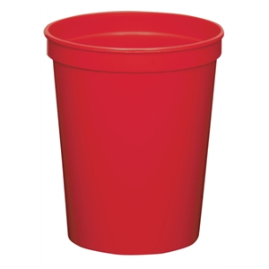 Red - 16oz Stadium Cup (squat) - 17 Opaque And 4 Translucent Colors