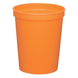 Orange - 16oz Stadium Cup (squat) - 17 Opaque And 4 Translucent Colors