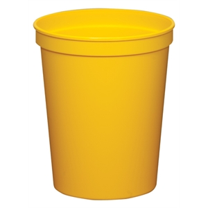 Yellow - 16oz Stadium Cup (squat) - 17 Opaque And 4 Translucent Colors