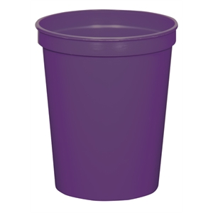 Purple - 16oz Stadium Cup (squat) - 17 Opaque And 4 Translucent Colors