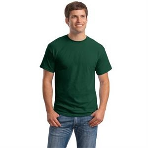 Hanes (r) - 3 X L White - Ecosmart (r) 50/50 Polyester/cotton T-shirt, Taped Neck And Shoulders