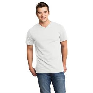 District (r) Very Important Tee (tm) - 2 X L White - Young Men's 4.3 Oz. 100% Ring Spun Combed Cotton T-shirt