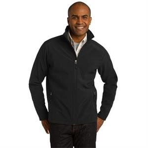 Port Authority (r) - 2 X L - Core Soft Shell Jacket With Front Zippered Pockets