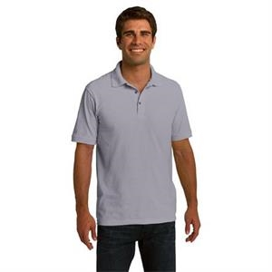 Port & Company (r) - 3 X L Colors - 100% Ring Spun Pique Knit Cotton Polo Shirt With Soil Release Finish