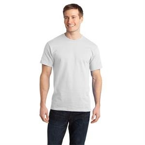 Port & Company (r) - 4 X L White - Essential Ring Spun Cotton T-shirt