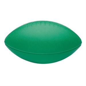 "Mini Plastic Football; Made In The U.s.a; 5 3/8"" W X 3"" H X 3"" D"