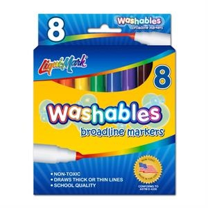 8 Pack Washable Markers