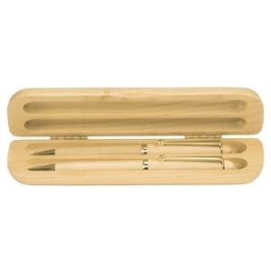 Maple Pen, Pencil & Case