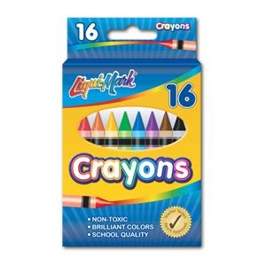 16 Pack Crayons - Assorted Colors