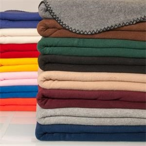 Sherwood - Anti Pill Fleece Blanket. 100% Polyester 200gsm Polar Fleece. Blank