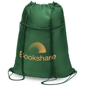 Drawstring Tote Bag Features 420d N
