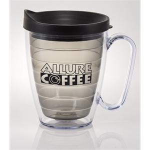 Next - Charcoal - 16 Oz. Acryline Mug With Handle