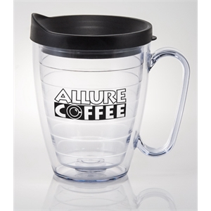 Next - Clear - 16 Oz. Acryline Mug With Handle
